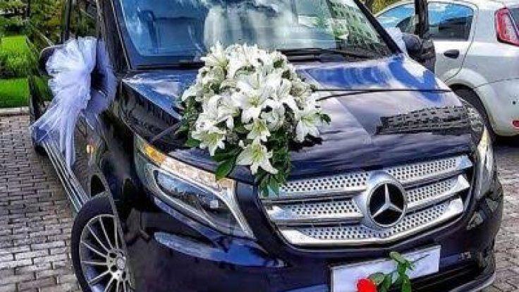 Vip Mercedes Vito Düğün Arabası